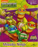 Livro - Half Shell Turtles - Missão Ninja