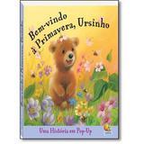 Livro - Histórias pop up: bem-vindo a primavera, ursinho
