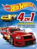Livro - Hot Wheels - 4 em 1 - Livro de diversão