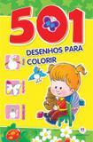 Livro Infantil Colorir 501 Atividades para Colorir - Ciranda