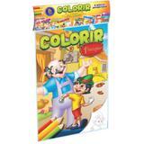 Livro Infantil Colorir Classicos Solapa Pqueno 08Livr Pct.C/08 Bicho Esperto