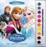 Livro Infantil Colorir Frozen Aquarela Unidade DCL