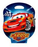 Livro Infantil Com Cd Ou Dvd Aventura Dos Carros 8Vol+Jogos Vale Das Letras Maleta