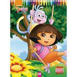 Livro Infantil Gigante Dora a Aventureira - Vale das letras