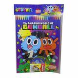 Livro infantil super kit mundo de gumball / un / vale das letras