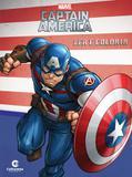 Livro - Ler e colorir Capitão América