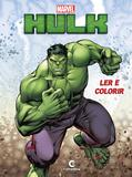 Livro - Ler e colorir Hulk