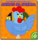 Livro - Livro Quebra-Cabeca Com Rimas - Animais Da Fazenda - Blu editora