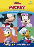 Livro - Máscaras Divertidas Mickey