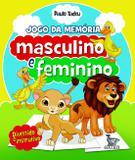 Livro - Masculino e feminino - jogo da memória