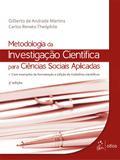 Livro - Metodologia da Investigação Científica para Ciências Sociais Aplicadas