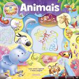 Livro - Meu livro desenho mágico - animais