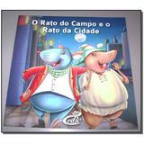 Livro - Meus Classicos Favoritos - Rato Campo Rato Cidade - Cedic