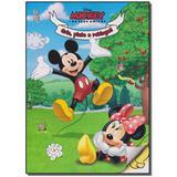 Livro - Mickey E Os Seus Amigos - Crie, Pinte E Rabisque - Ediouro ( normal )