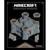 Livro Minecraft Fortaleza Medieval - Mojang