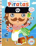 Livro - Minha primeira história com adesivos - piratas