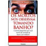 Livro - Mortos Nos Observam Tomando Banho - Pensamento