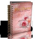 Livro - Mulher Virtuosa - Diário de oração - meditações diárias com anotações