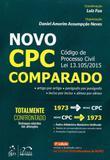 Livro - Novo CPC - Comparado - Código de Processo Civil Lei 13.105/2015