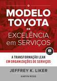 Livro - O Modelo Toyota de Excelência em Serviços
