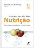 Livro - O que você quer saber sobre nutrição