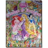 Livro - Onde Esta - Disney Princesas - Sonhos E Desejos - Editora abril comunicacoes
