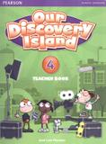Livro - Our Discovery Island Level 4 - Teacher Book + Workbook + Multi-Rom + Online World