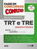 Livro - Passe em concursos públicos : Completaço® : TRT e TRE - 1ª edição de 2018