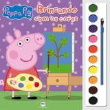 Livro - Peppa Pig - Brincando com as cores