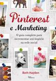 Livro - Pinterest e marketing