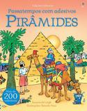 Livro - Pirâmides : Passatempos com adesivos
