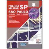 Livro - Policia Militar Sp - Soldado Pm De 2 Classe - Alfacon
