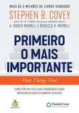 Livro - Primeiro o mais importante