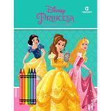 Livro - Princesas Ler E Colorir Blister