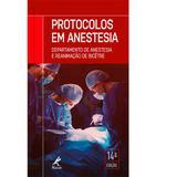 Livro - Protocolos em anestesia - departamento de anestesia e reanimação de Bicêtre