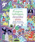 Livro - Risque, rabisque, desenhe e pinte piratas
