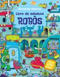 Livro - Robôs : Livro de adesivos