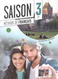 Livro - Saison 3 Livre Eleve + Cd Audio + Dvd B1 - Hat - didier/ hatier