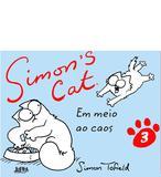 Livro - Simon's cat em meio ao caos