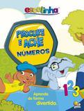 Livro + tapete escolinha: procure e ache - números