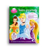Livro Teatro Encantado Princesas Disney DCL