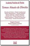 Livro - Temas atuais de direito - 1 ed./2008