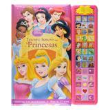 Livro Tesouro Sonoro Princesas Disney - DCL