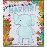 Livro - Toque E Sinta - Agora Eu Consigo: Barrir! - Happy books
