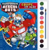 Livro - Transformers Rescue Bots - Equipe em ação