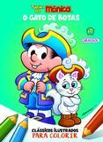 Livro - Turma da Mônica Clássicos Ilustrados para Colorir