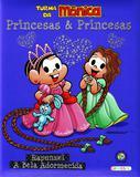 Livro - Turma da Mônica - princesas e princesas - Rapunzel / A Bela Adormecida