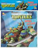 Livro - Vamos colorir! Kit livro+lápis de cor: Ninja Turtles