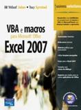 Livro - VBA e Macros para Microsoft® Office Excel 2007
