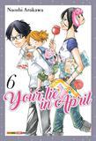 Livro - Your Lie in April - Volume 6